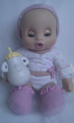 Adorable My 1st Newborn Baby Alive Soft Body Doll